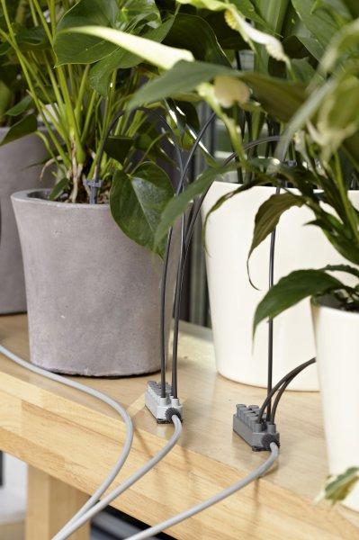 Ev gülləri üçün damcı suvarma sistemi Gardena